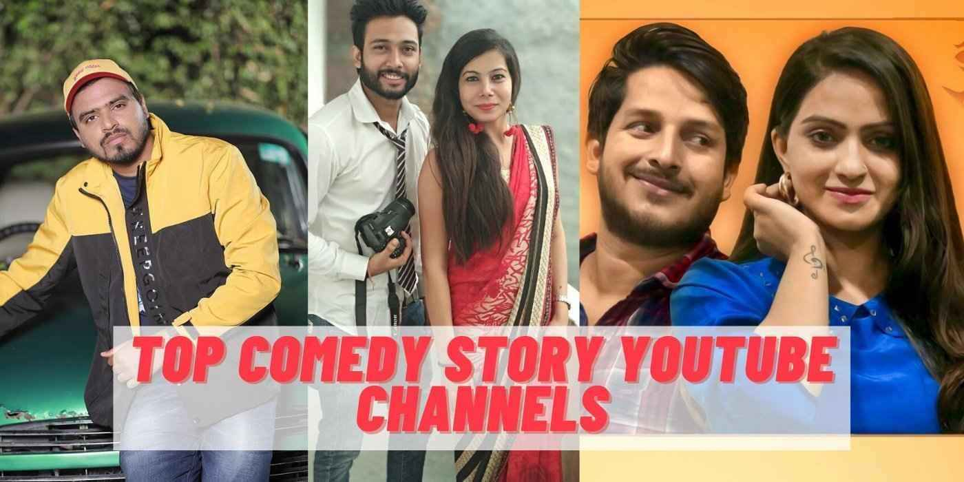 Top 10 Comedy (Story) Youtube Channel in India