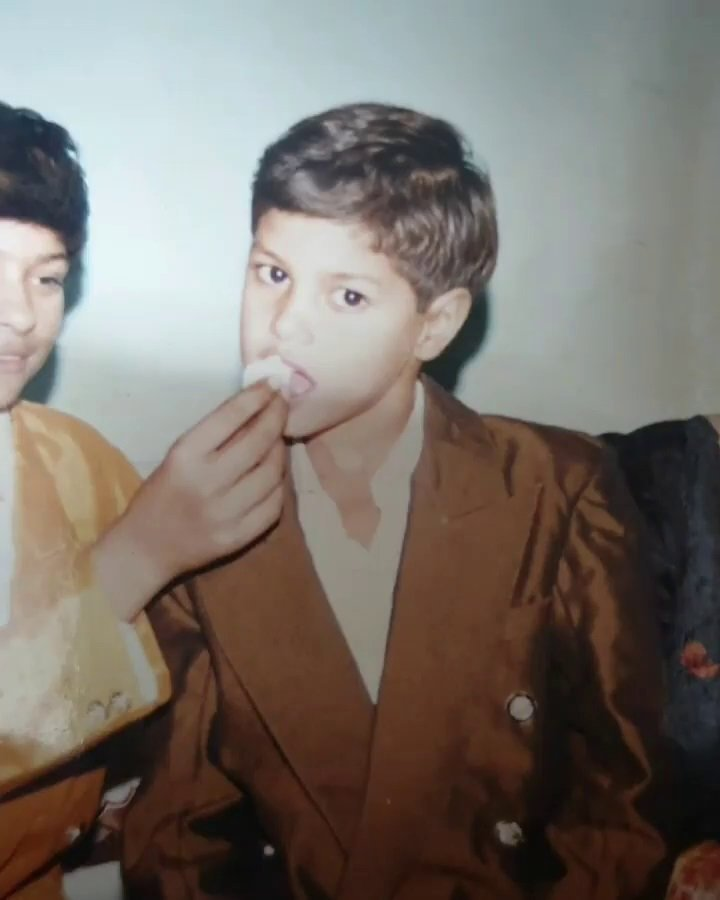 shanky goswami childhood