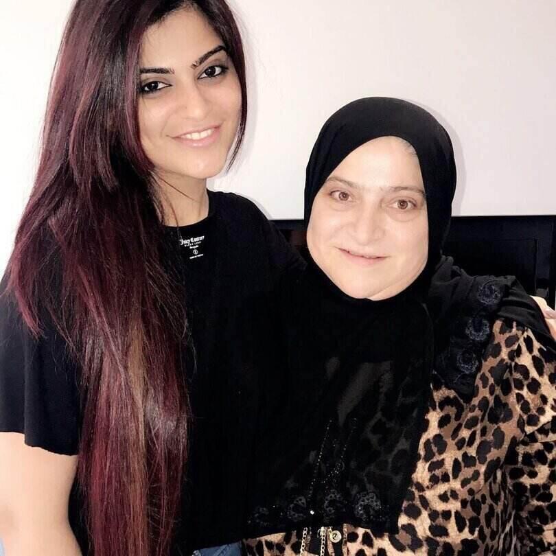 aliya hamidi mother
