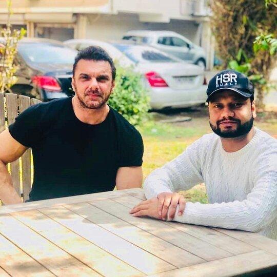 Kulbir Danoda and Sohail Khan