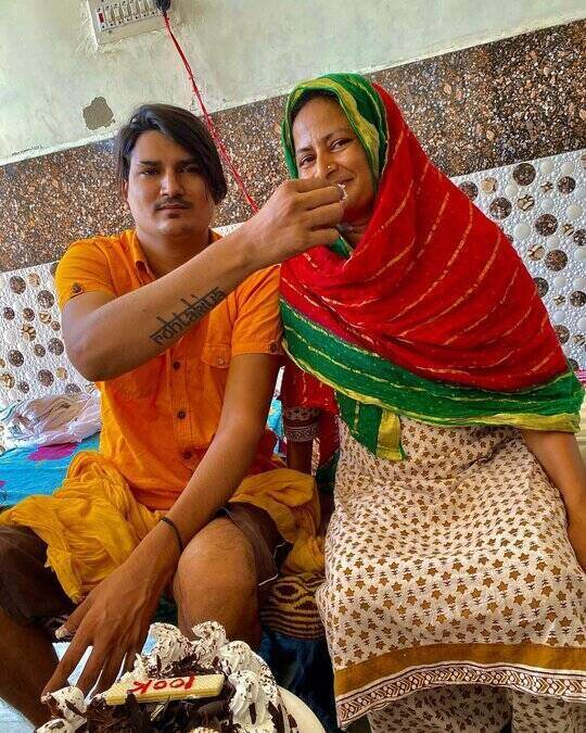 Amit Saini Rohtakiya Mother