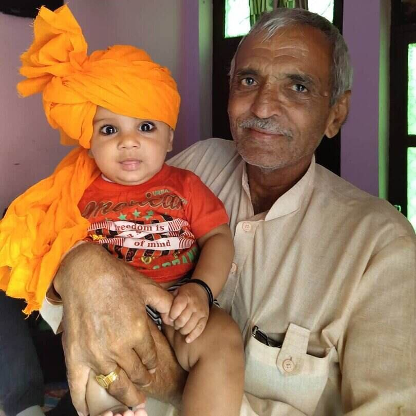 Masoom Sharma Grandfather